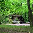 植物園 水車小屋