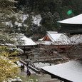 清水寺 雪1
