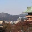 高台寺から見た北西方面