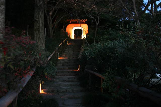 石峯寺 ライトアップ