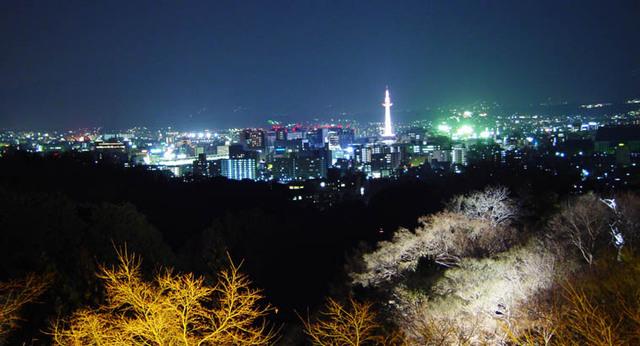 花灯路 2005春 京都タワー