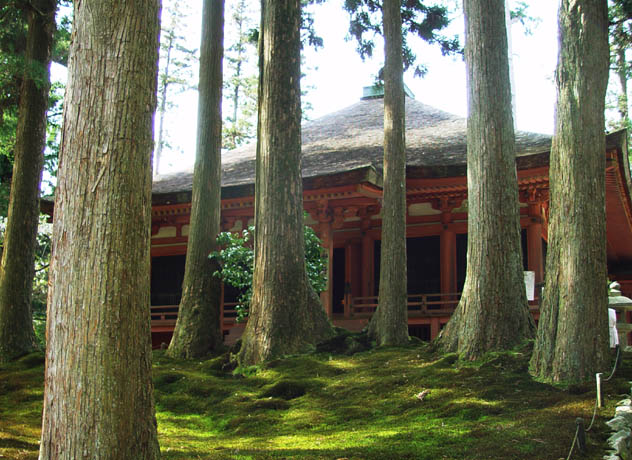 比叡山延暦寺 にない堂