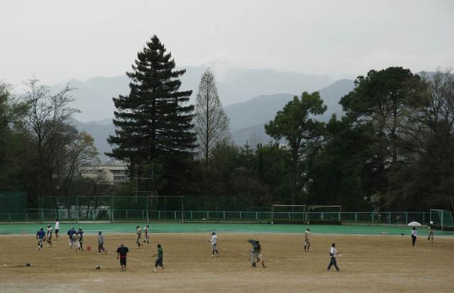 京都大学 農学部グラウンド